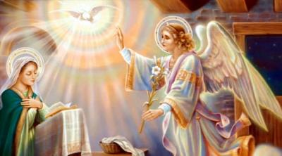 7 квітня – свято Благовіщення