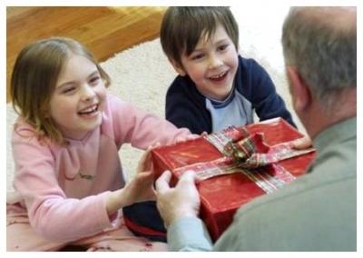 Как выбрать подарок для дедушки.